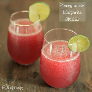 Pomegranate Margarita Slushie.