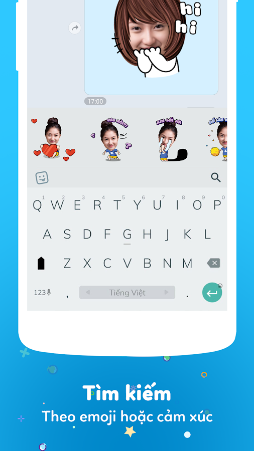 Zamoji - Make Your Personal Sticker- screenshot