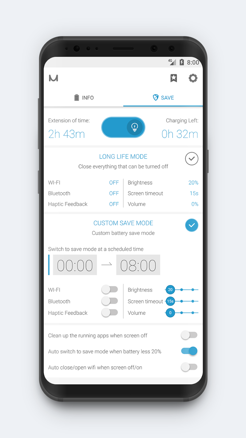 Battery Manager (Saver) Screenshot 3