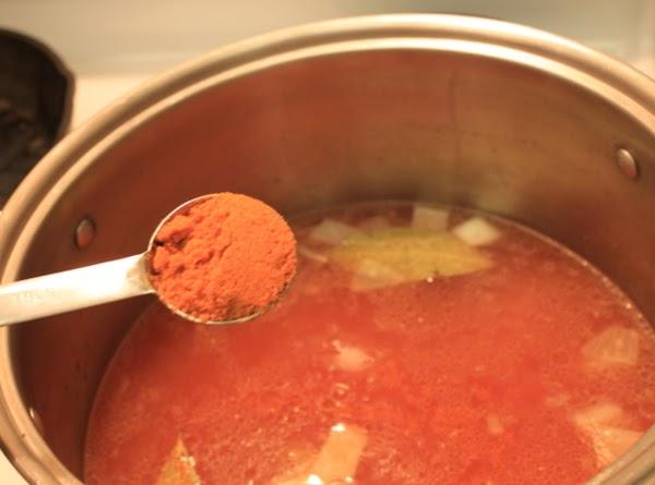 2 Tbls Knorr's tomato chicken flavor