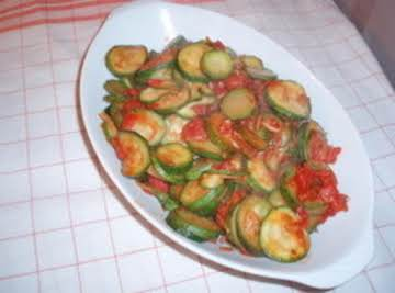 Homestyle Zucchini and Tomatoes