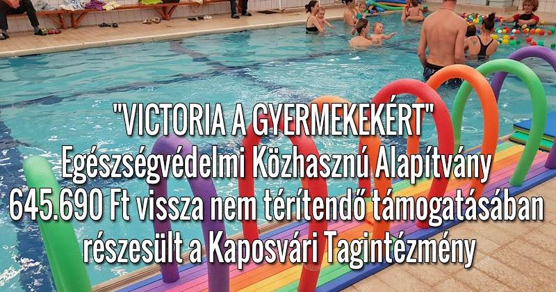 A Kaposvári Tagintézmény 645.690 Ft támogatásban részesült