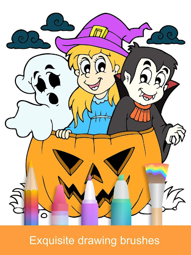 2021 Halloween Coloring Books 2.1.3 screenshots 9