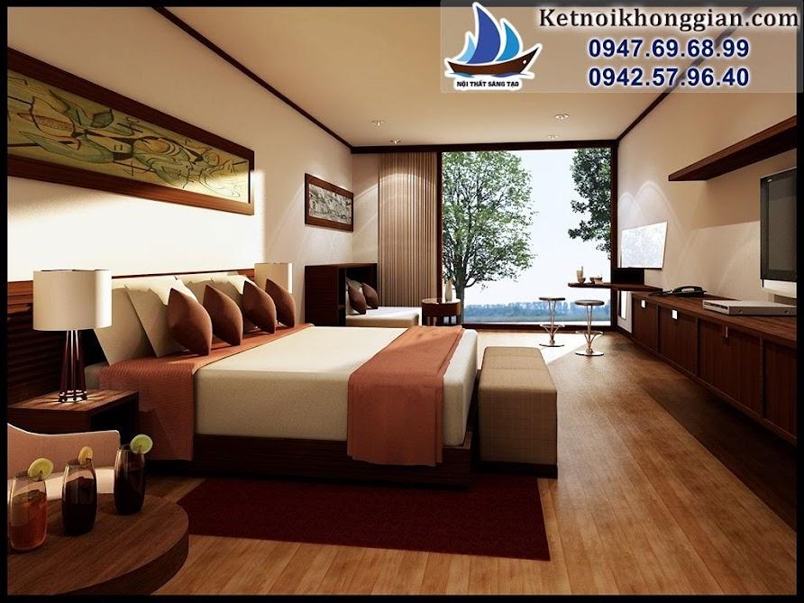 thiết kế và bài trí nội thất phòng ngủ