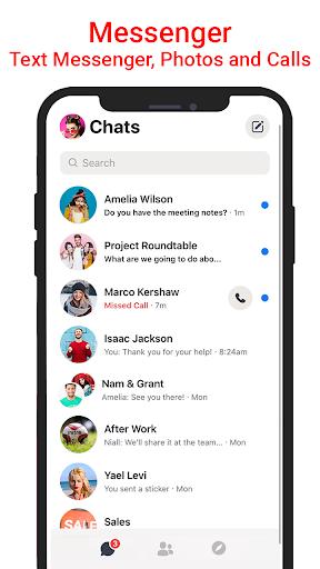 Messenger SMS & MMS screenshot 1