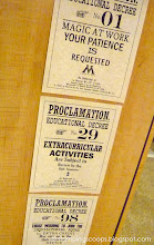 Photo: Educational Decree Signs