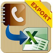 Export Phone Contacts to Excel