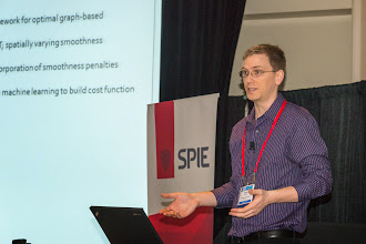 Photo: Andrew Lang, SPIE Medical Imaging 2014