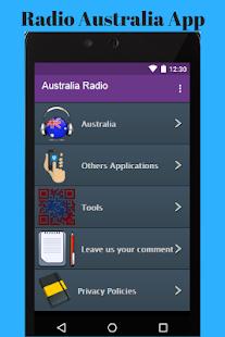 Radio Australia App - náhled