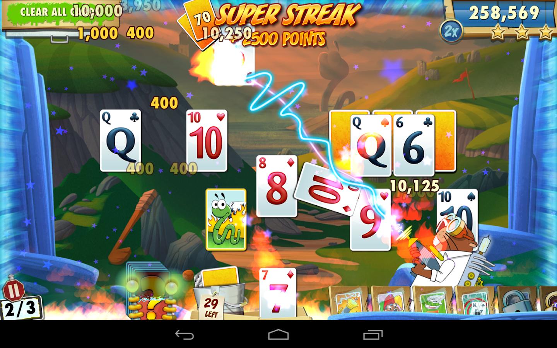 Screenshots of Fairway Solitaire Blast for iPhone