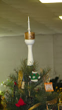 Photo: Bert Bleckwenn & Margaret Follas Collaboration -- the turned and carved tree-top ornament