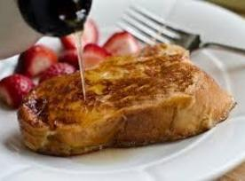 Blender French Toast With Coconut Syrup Recipe