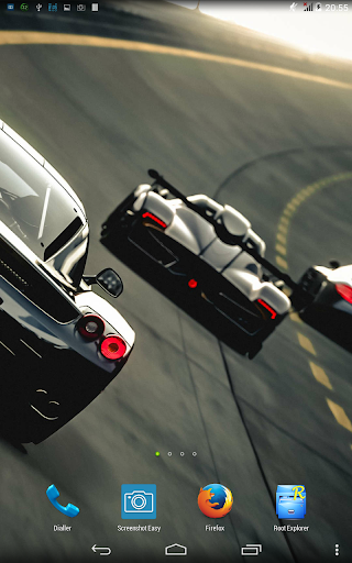 Muscle cars. Live wallpaper.
