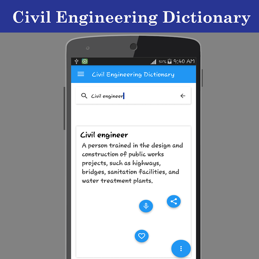 Civil Engineering Dictionary - Free ... - download.cnet.com