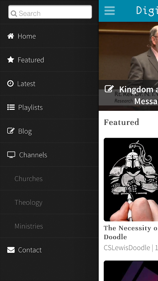 Digital Theology- screenshot