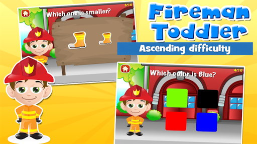 Fireman Toddler School Free screenshots apkspray 2