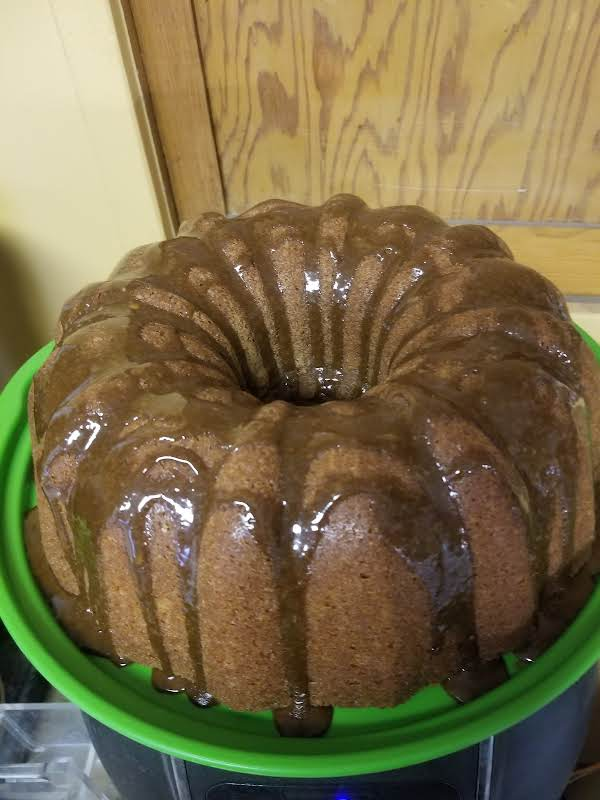 I Added Molasses,ginger & Cinnamon To Batter And Molasses To Glaze.