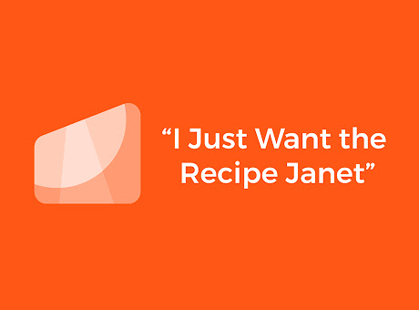 I Just Want the Recipe Janet