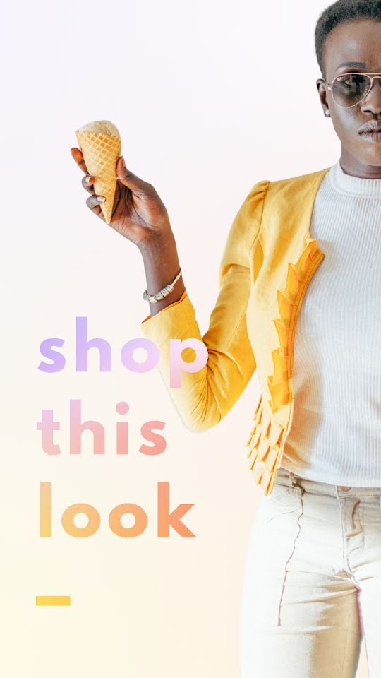 Shop This Look - Facebook Story Template