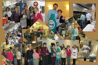 Photo: The finale: VIC Pasta Dinner Collage at Elks Club 2013- Kitchen Crew