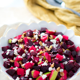 Roasted Beet and Apple Salad