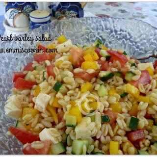 Pearl Barley Healthy Recipes