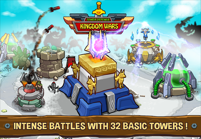Tower Defense: Kingdom Wars v1.0.12 [Mod]