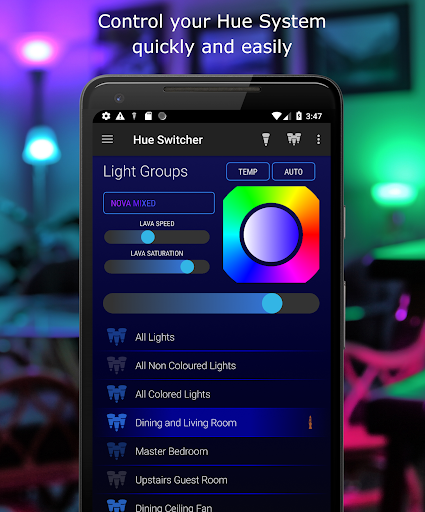Hue Switcher for Philips Hue Bridges 3.0.23 screenshots 1