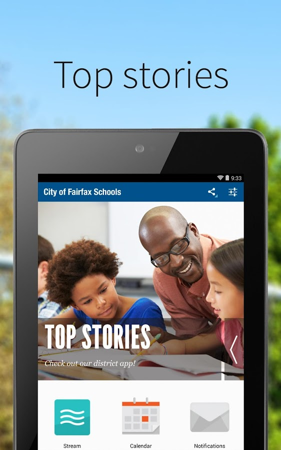 City of Fairfax Schools- screenshot