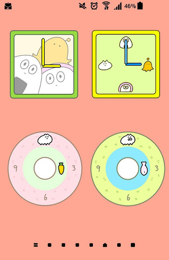 귀여운 시계 Rabbit|玩個人化App免費|玩APPs