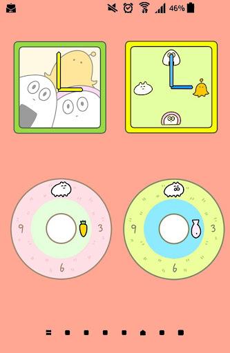Clocks Widgets Rabbit|玩個人化App免費|玩APPs