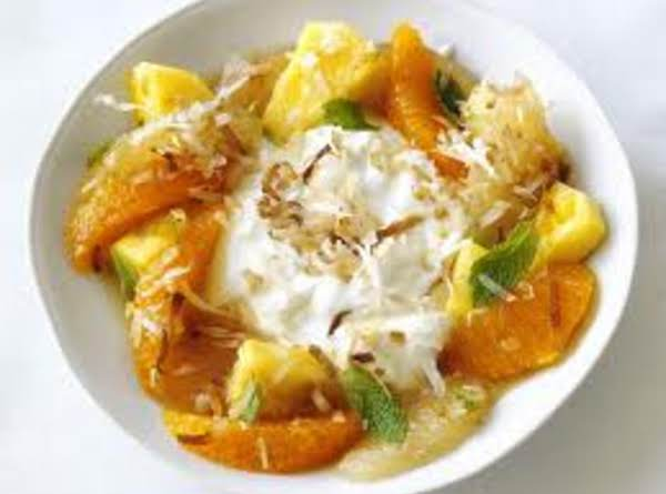 Pineapple-citrus Salad With Coconut Recipe