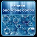 Thème du clavier bulles