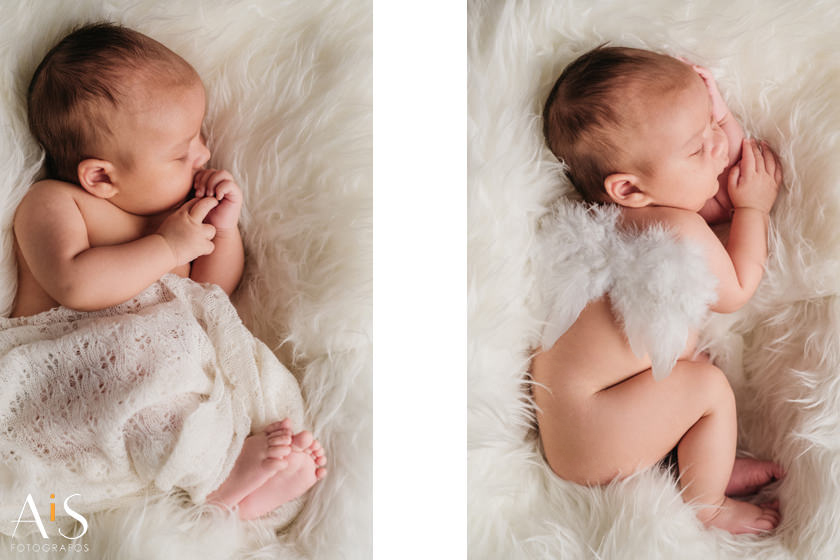 reportaje Newborn en Madrid