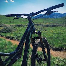 Photo: Mid Mountain Pivot  Rode Mid Mountain in Park City today.
