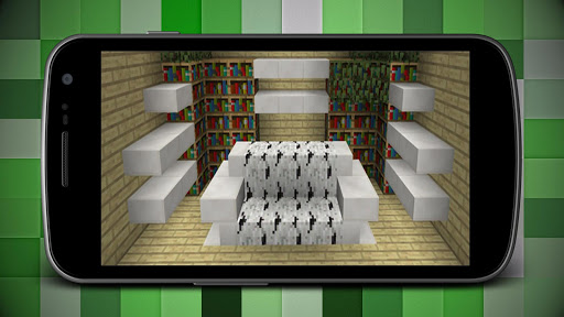 Modern Super Mansion House Map for MCPE for PC