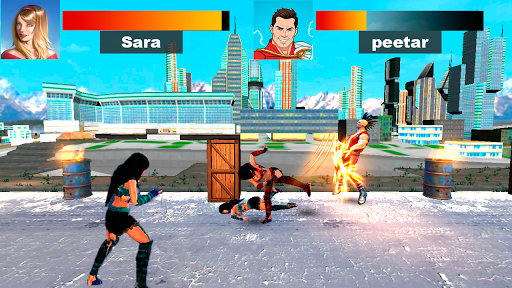 Kung Fu Extreme Fighting - Kick Boxing Deadly Game 1.0 screenshots 2