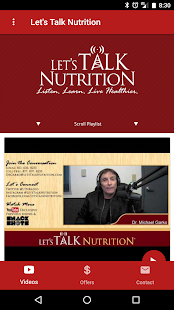 Let's Talk Nutrition- screenshot thumbnail