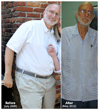 Photo: This two-picture combo handout photos provided by Alan Gross attorney Peter Kahn, shows Gross in 2009 and in 2012. Kahn, the lawyer for Gross, a Maryland man imprisoned in Cuba for more than two years says his client's health is worsening and that country is withholding the results of medical tests performed on him there. (AP Photo/Courtesy of Peter Kahn)