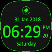 Free Digital Clock with Live Wallpaper && Alarm Clock APK for Windows 8