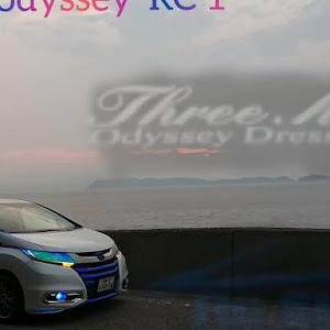 オデッセイ RC4 RC1でした😄20周年特別仕様車のカスタム事例画像 シロッセイ  Three.h.R  No.6さんの2020年08月04日09:32の投稿