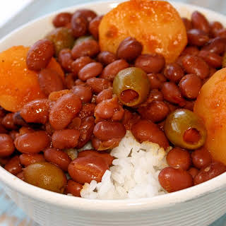 Puerto Rican Rice & Beans.
