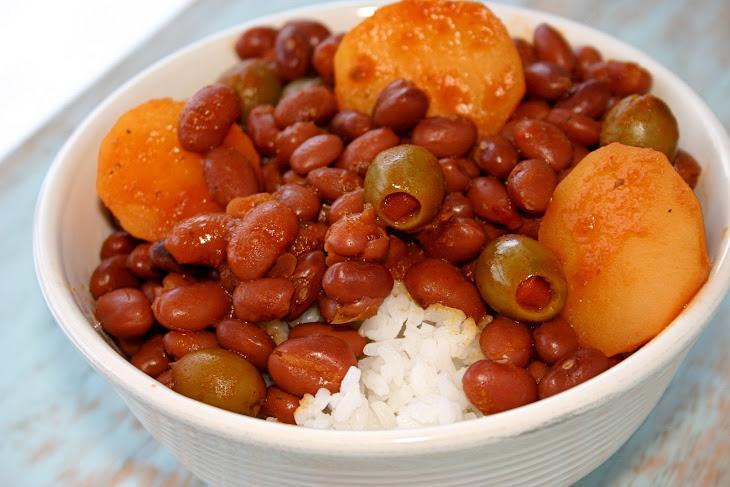 Puerto Rican Rice & Beans Recipe