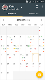Men's Calendar - Sex App- screenshot thumbnail