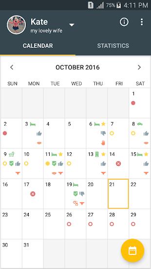 Men's Calendar - Sex App- screenshot thumbnail