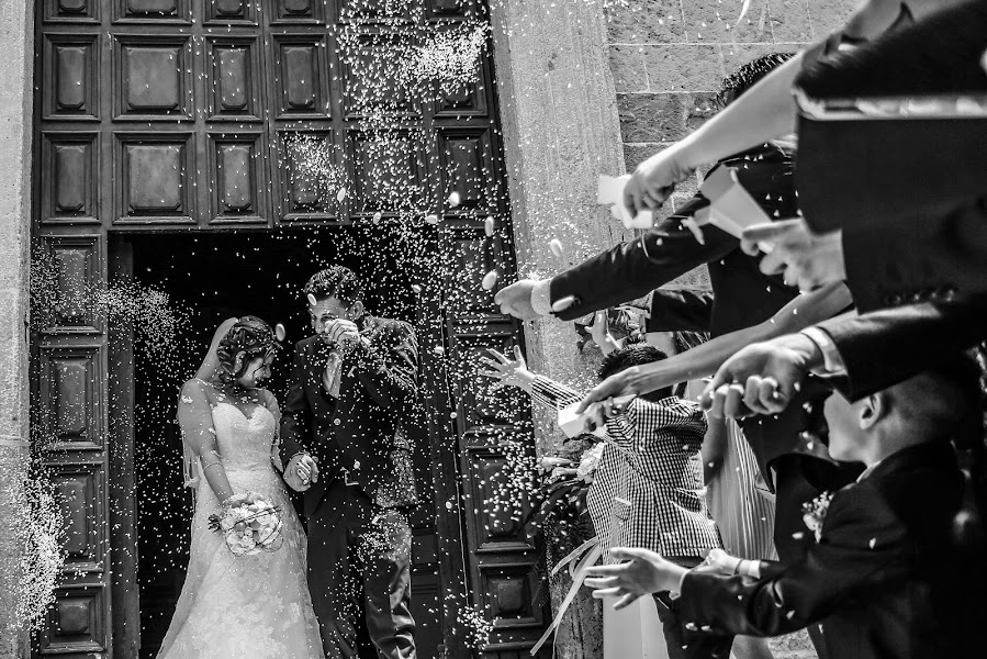 Vestuvių fotografas Alessandro Spagnolo (fotospagnolonovo). Nuotrauka 11.06.2019