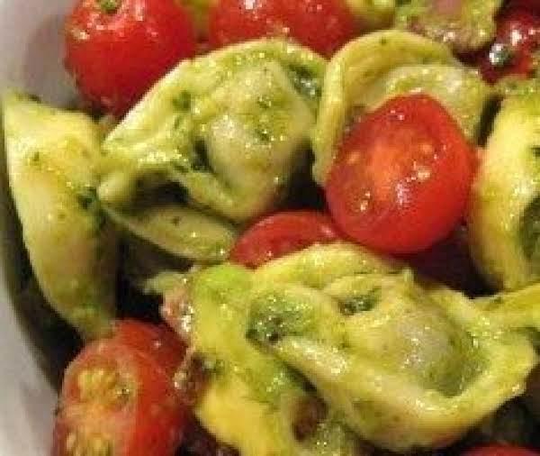 Tortellini Pesto Salad Recipe