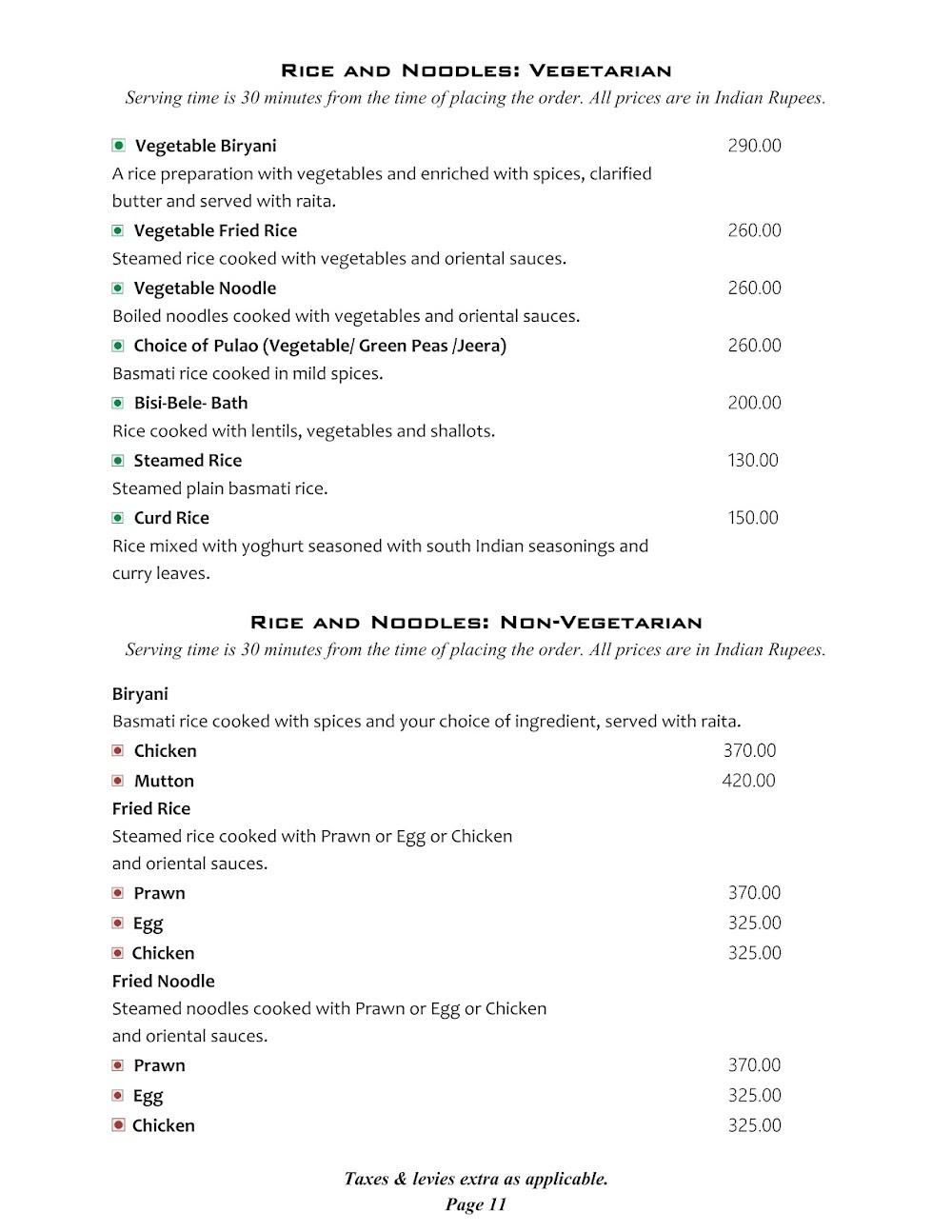 Cafe @ Elanza menu 11