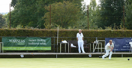 Photo: George Mantle against Brian Perryman in the Men's Two Wood.