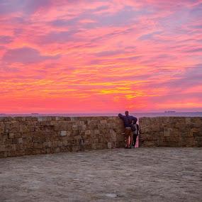 Akko by Yakov Zak - Landscapes Sunsets & Sunrises